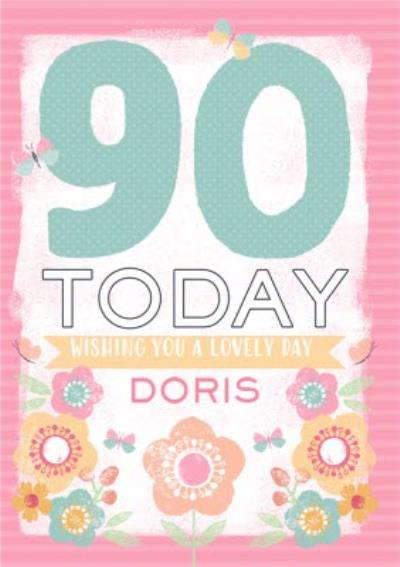 Awe Inspiring 90Th Birthday Cards Moonpig Funny Birthday Cards Online Barepcheapnameinfo