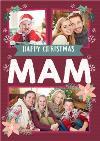 Mam Photo Upload Christmas Card