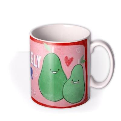 Valentine's Day Pair Photo Upload Mug