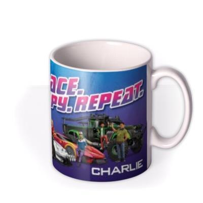 Race Spy Repeat Personalised Mug