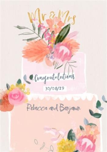 Wedding Card Congratulations Moonpig