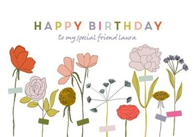 Birthday Card - Happy Birthday
