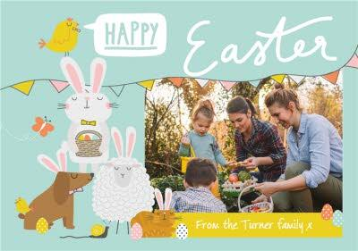 Easter Card - Happy Easter - Photo Upload