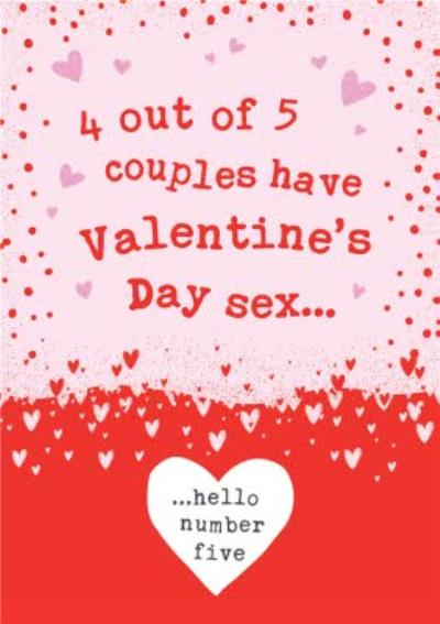 Funny Rude Sex on Valentine's Day Card