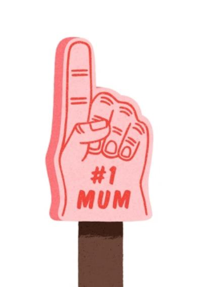 Folio Number 1 Mum Mothers Day Card