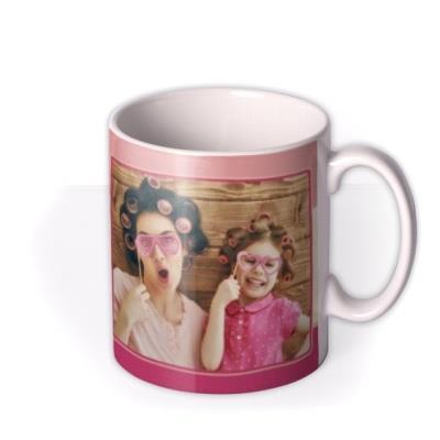 Bright Retro Letters Love You Mum Custom Mug