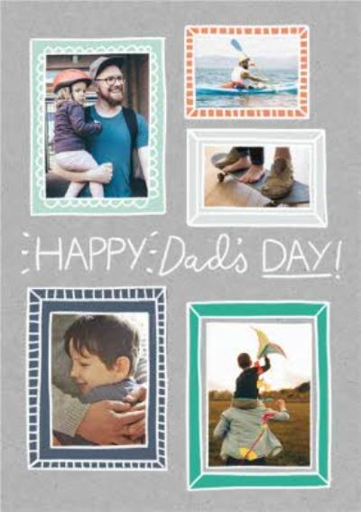 Frame Collage Photo Father's Day Card