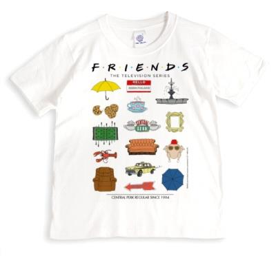 Friends TV - T-SHIRT - Central Perk Regular since 1994