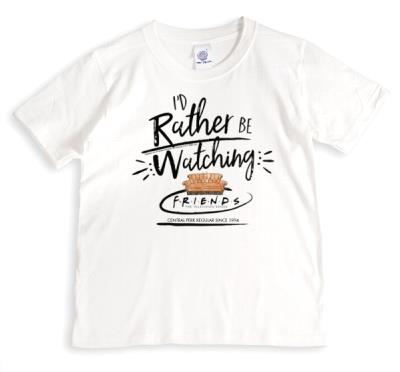 Friends TV I'd Rather Be Watching Friends T-Shirt