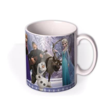 Happy Birthday Disney Frozen Characters Personalised Mug