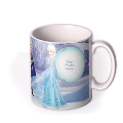 Disney Frozen Winter Photo Upload Mug