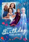Disney Frozen 2 Magical Photo Upload Special Birthday Wishes Card