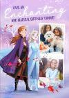 Disney Frozen 2 Enchanting And Magical Photo Upload Birthday Card