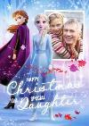 Disney Frozen 2 Daughter Photo Upload Christmas Card