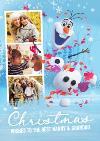 Disney Frozen 2 Nanny and Grandad Photo Upload Christmas Card