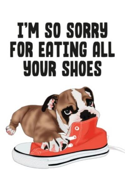 Modern Funny Cute From the Dog Birthday Card