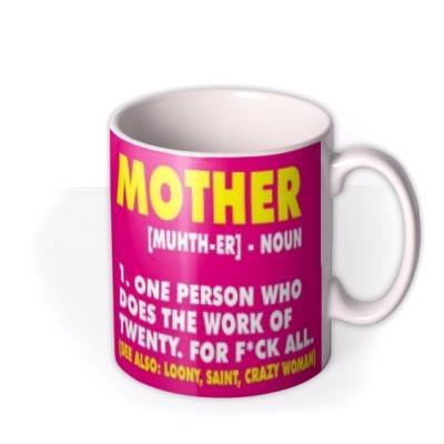 Funny Definition Of Mother Mug