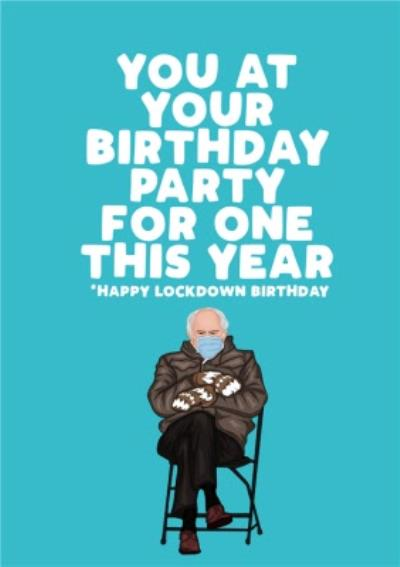 Funny Spoof You At Your Birthday Party For This Year Card