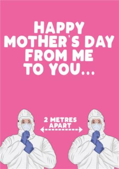 Happy Mothers Day From Me To You Funny Card