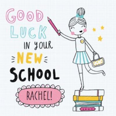 #Fashionistas Good Luck At Your New School Card