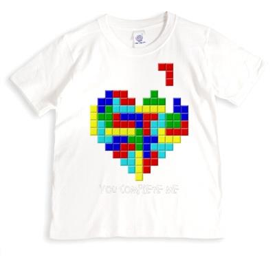 Complete Me Blocks Personalised T-shirt