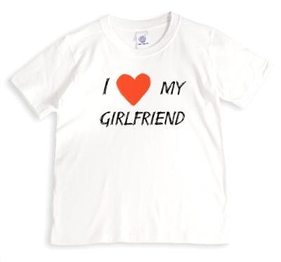 Valentine's Day Heart My Girlfriend T-shirt