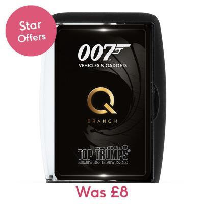 James Bond Top Trumps
