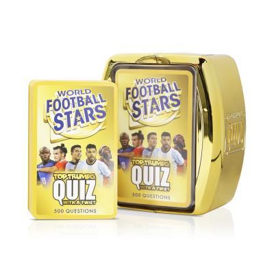 World Football Stars Top Trumps Quiz