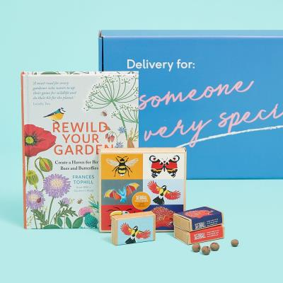 Letterbox Wildlife Seedball & Book Gift
