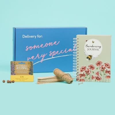 The Letterbox Gardening Seeds & Journal Gift Set