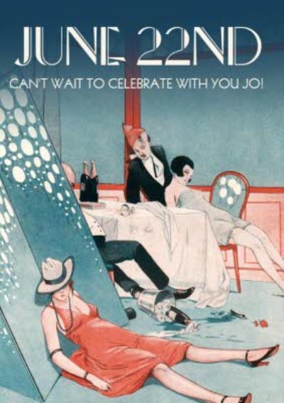 June 22nd Funny Drinking Celebration Card