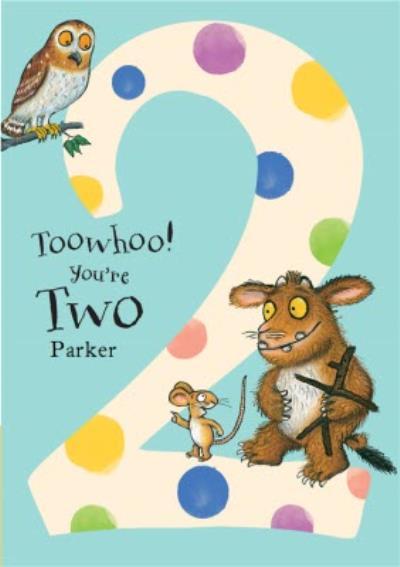 The Gruffalo's Child 2nd Birthday Card