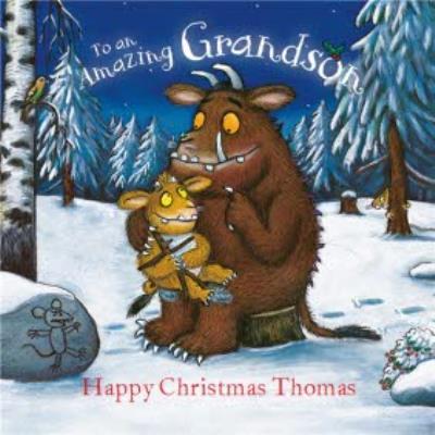 The Gruffalo's Child Grandson Christmas Card