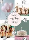 Birthday Card - Graphic Patterns - Photo Upload