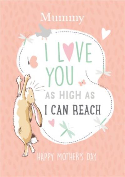 Danilo Ghmily Mummy I Love You As High As I Can Reach Card