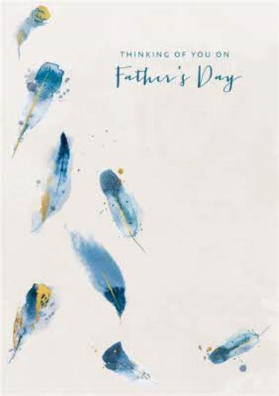 Thinking Of You On Fathers Day Card