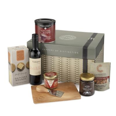 Cheese Lovers Wicker Hamper