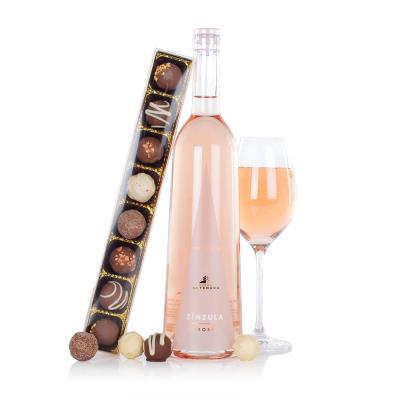 Rosé & Chocolates Gift Bag