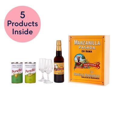 Barbadillo Sherry & Olives Gift Set
