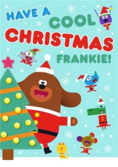 Hey Duggee Have a Cool Christmas Christmas Card