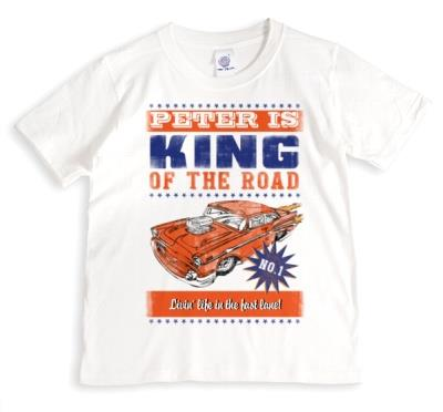 King Of The Road Personalised T-Shirt