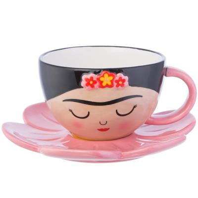 Sass & Belle Frida Kahlo Teacup & Saucer Set