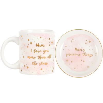 Sass & Belle Mug & Trinket Dish Gift Set
