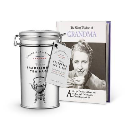 Cartwright & Butler English Breakfast Tea & Book Gift Set
