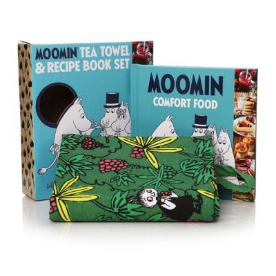 Moomin Recipe Book & Tea Towel Gift Set