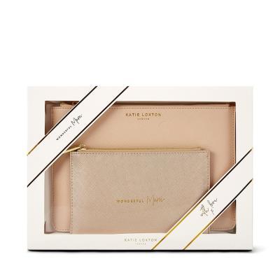 Katie Loxton 'Wonderful Mum' Purse Gift Set