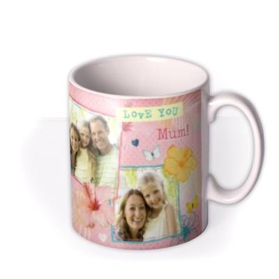 Mother's Day Collage Photo Upload Mug