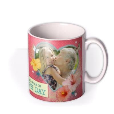 Mother's Day Gran Photo Upload Mug