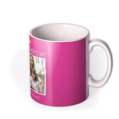Mother's Day Pink Photo Upload Mug