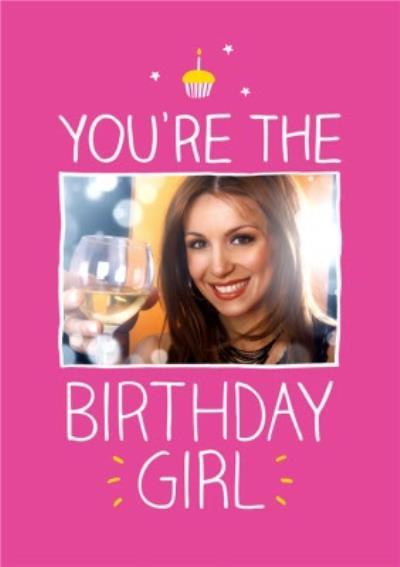 Happy Jackson You're The Birthday Girl Photo Card